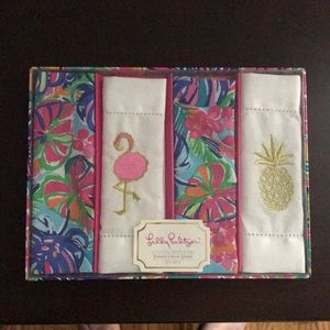 Lilly Pulitzer Cocktail Napkins Set NWT